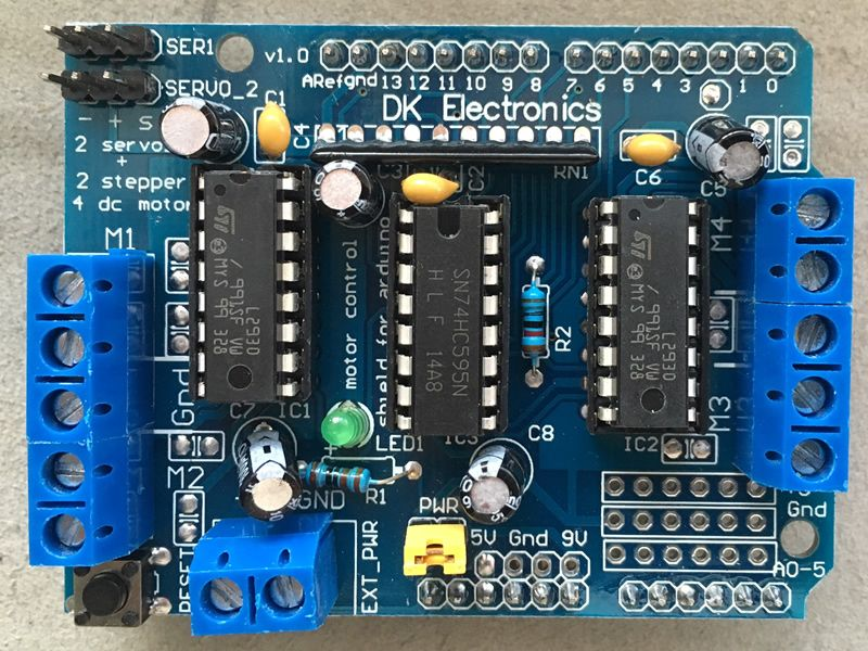 Adafruit motor shield library impremedia
